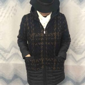 Abrigo tipo Chanel